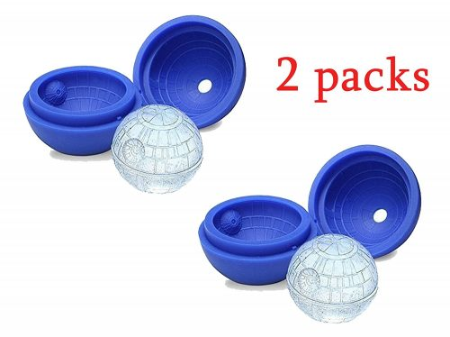 Star Wars Death Star Silicone Sphere Ice Ball Maker Mold