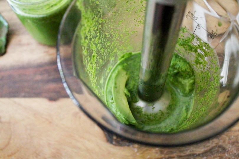Dairy-Free Low-Fat Cilantro Dressing with Avocado