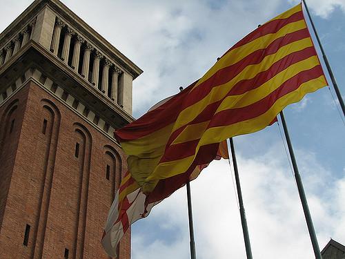 nacionalismo catalan simbolos identidad bandera