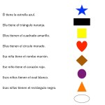 Learning shapes with colors