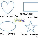 Bilingual shape names and figures