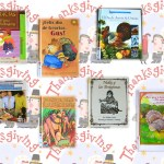 Spanish books for children to learn about Thanksgiving