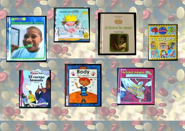 Spanish children books about germs