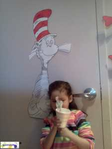 Dr Seuss at the Library