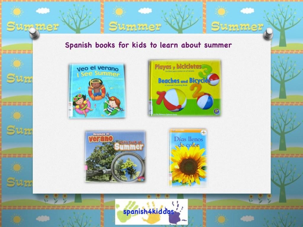Summer Spanish books