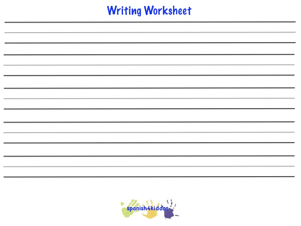 Worksheets Spanish Practice Worksheets spanish classroom objects spanish4kiddos educational resources essential question