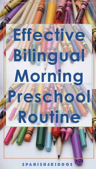 morning preschool routine