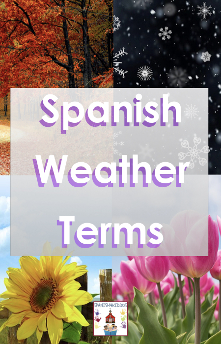 Spanish weather terms