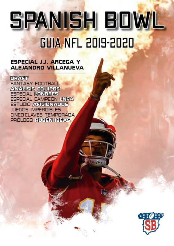 GUÍA NFL 2019/2020 DE SPANISH BOWL