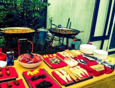 Paella&tapas catering