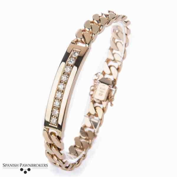 Diamond Identity Bracelet Uno-a-Erre