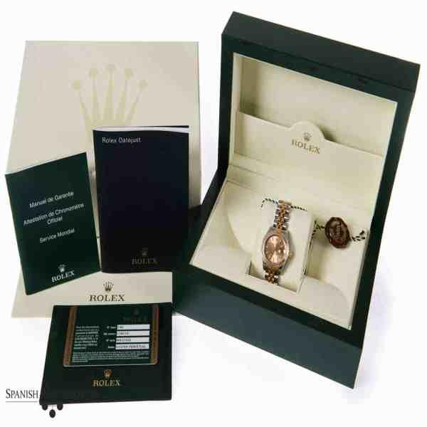 Rolex Ladies Datejust 179173