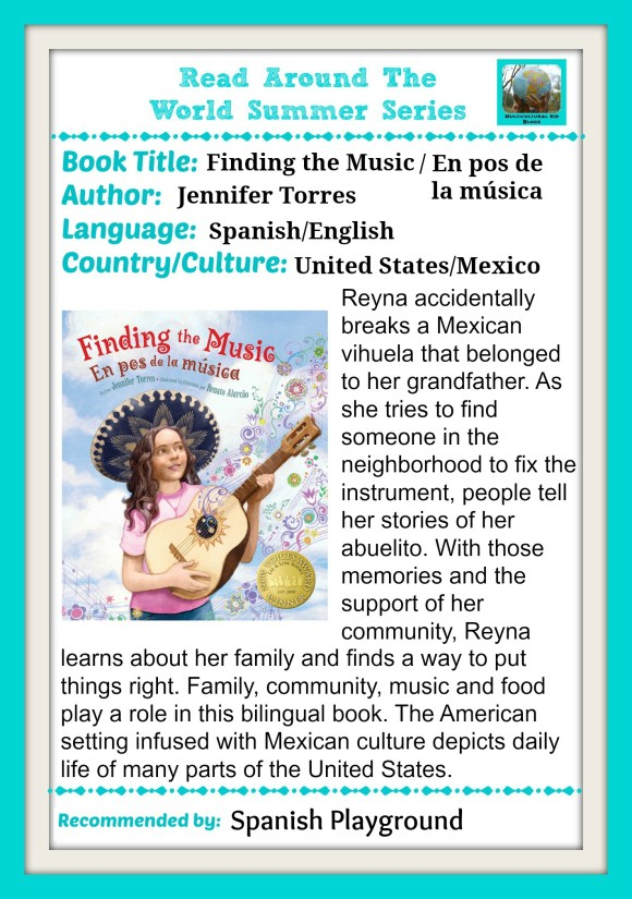 Multicultural Books for Kids - Spanish Playground