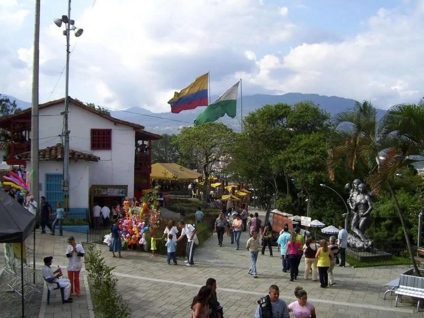 Pueblito paisa in Medellín Colombia