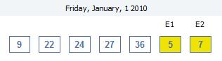 1st January 2010 a