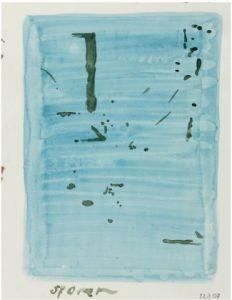 sporen, 27 x 22 cm, werk op papier, 2007