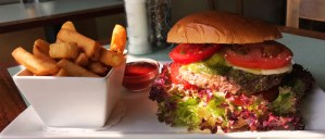 hamburger met patat
