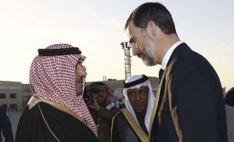 Koning Felipe VI Van Spanje Op Handelsmissie In Saudi Arabië