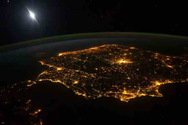 Spanje avond