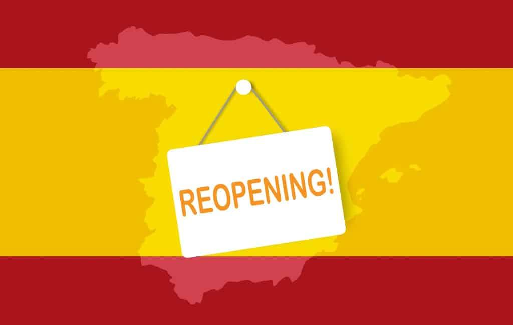 Het de-escalatieplan met versoepeling corona-maatregelen in Spanje