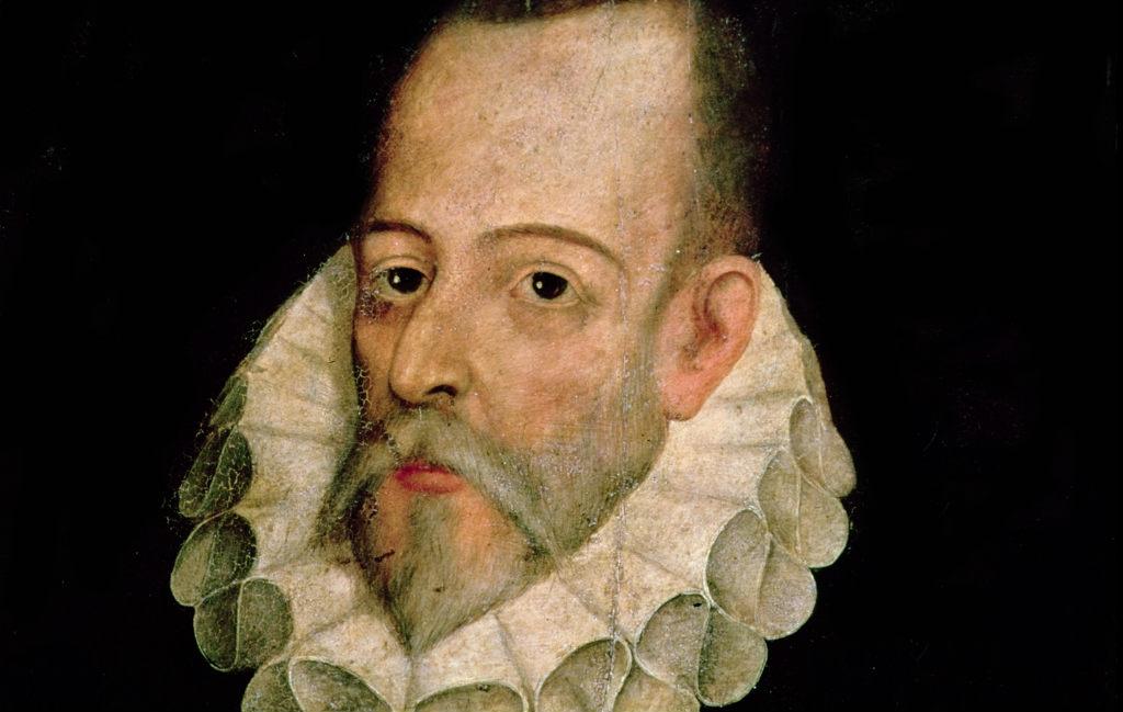 Spaanse schrijver Miguel de Cervantes
