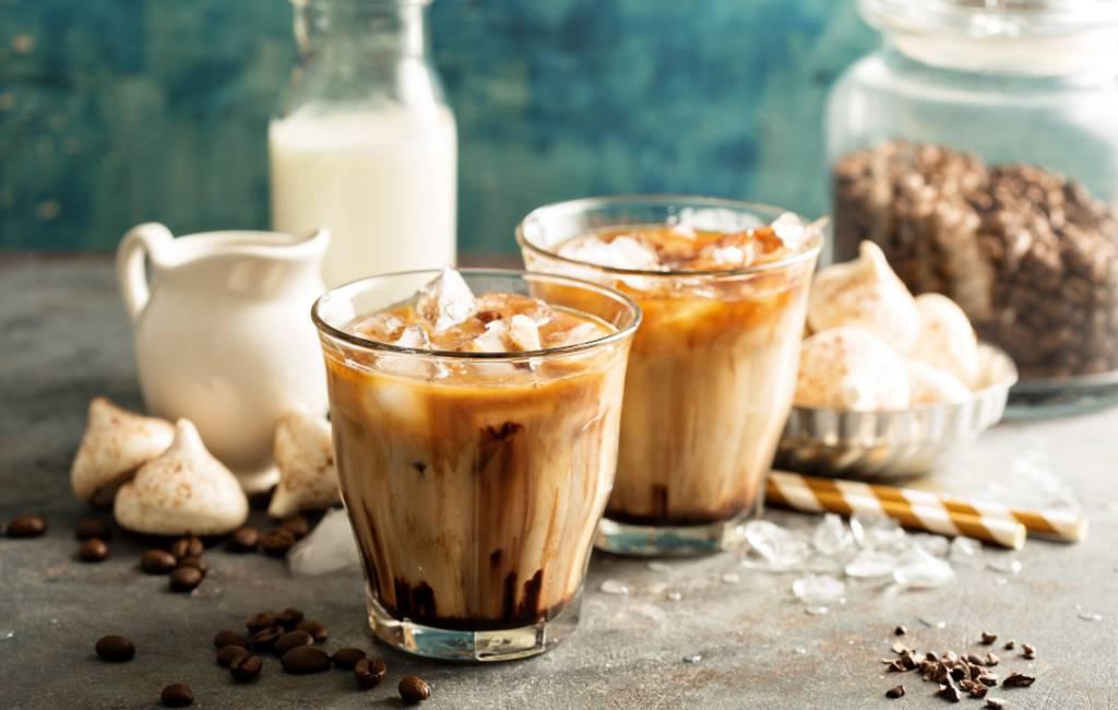 Koude koffie in Spanje