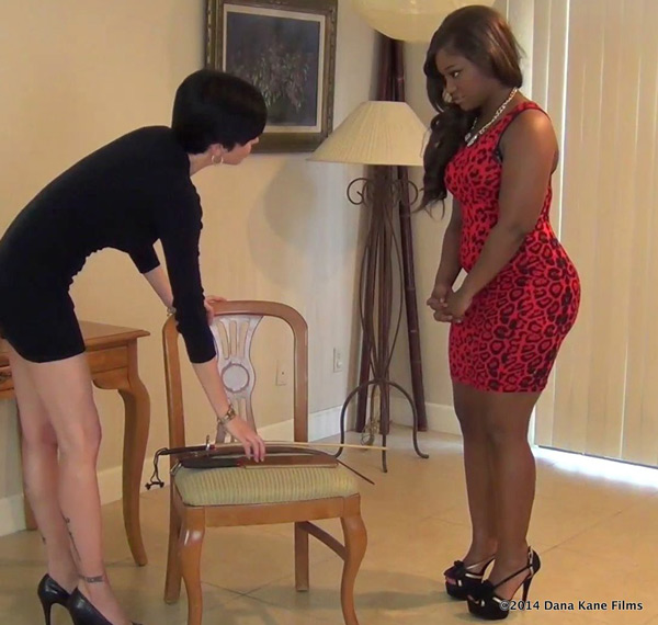 Dana Kane selects an implement for Erica