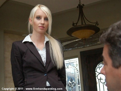Secretary Adrienne Black confesses she's lost some important files to her boss