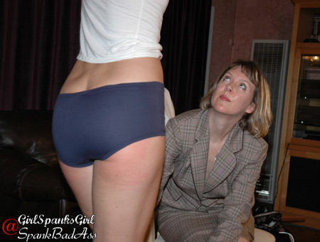 Amelia Jane Rutherford spanked by Clare Fonda in the Professional Student saga