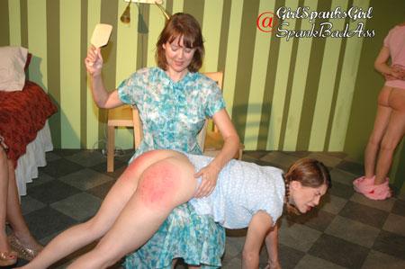 Kay Richards gets Paddled