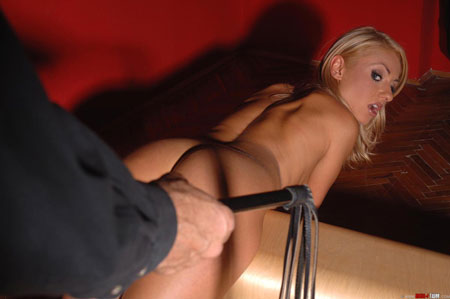 Submissive Greta's Flogging