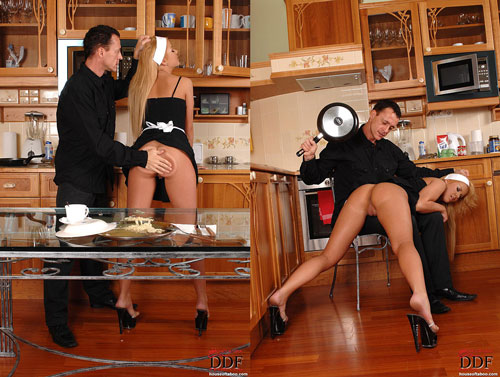 Zorah White is spanked and dominated