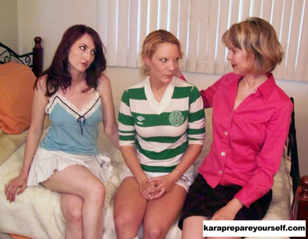 Kendra and Pixie's Kinky Double Spanking