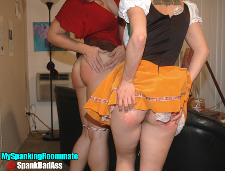 The aftermath of a spanking