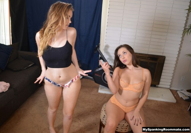 Sexy River Fox is in trouble with her new roommate, Jenna Sativa, on Independence Day