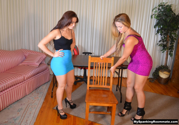 Spanking cousins Madison Martin and Mandy Muse are back