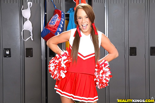 Anal teen cheerleader-6485