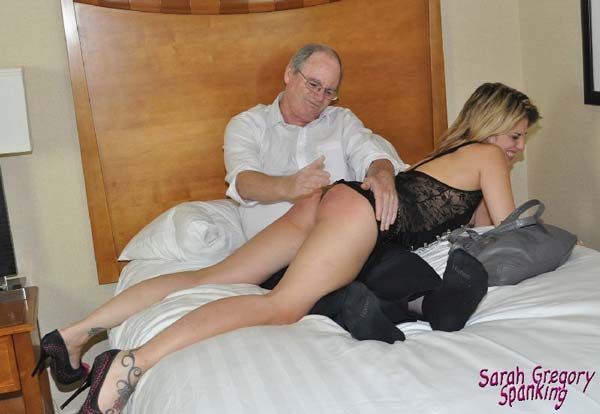 Briella Jaden gets spanked for being a bad mother