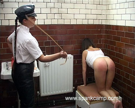 Strict Prison Disciplinary Spankings for Naughty Girls