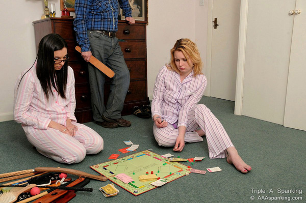 Sophie and Amber are fed up with playing Dave's game, Spankolpoly