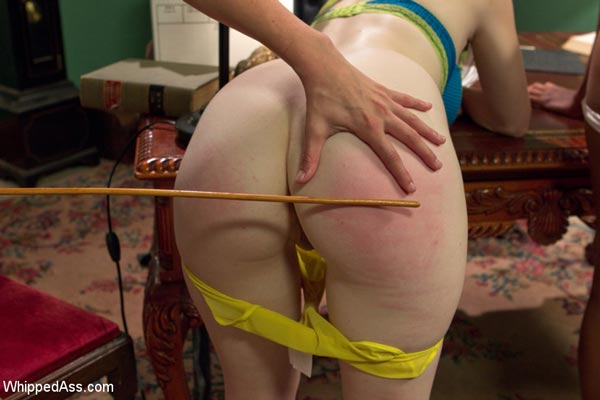 Dolly Leigh is caned in The Girlfriends
