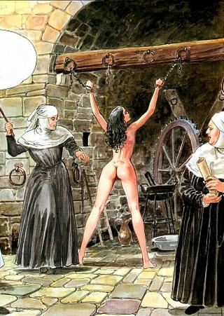 female whipping drawings