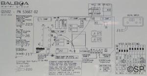 Balboa  Signature Spas GS  VS 501 M7 Control Pack  3kw