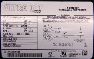 5kcr48tn2351cx GE motor mtrge2351 1111009, 5KCR48TN2351BX Marathon Motor, 5KCR48TN2351X