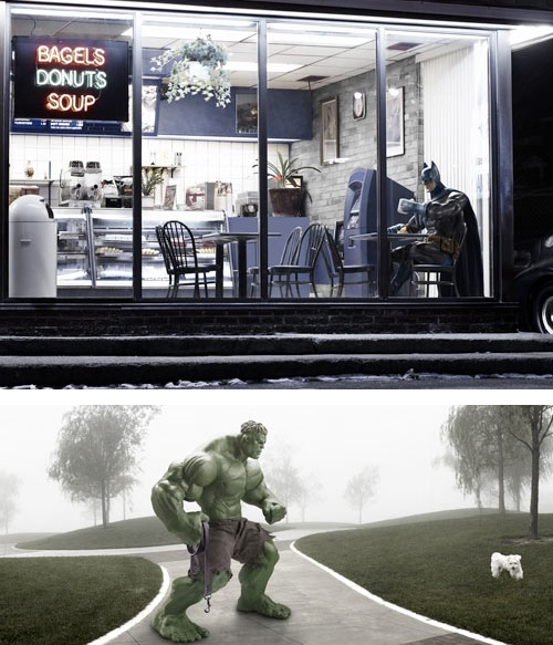 super-heroes (c) ian pool