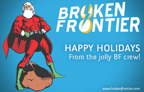 Broken Frontier Christmas Card