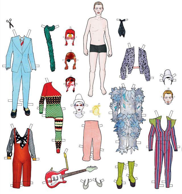 Serge Baeken Draws Bowie 01