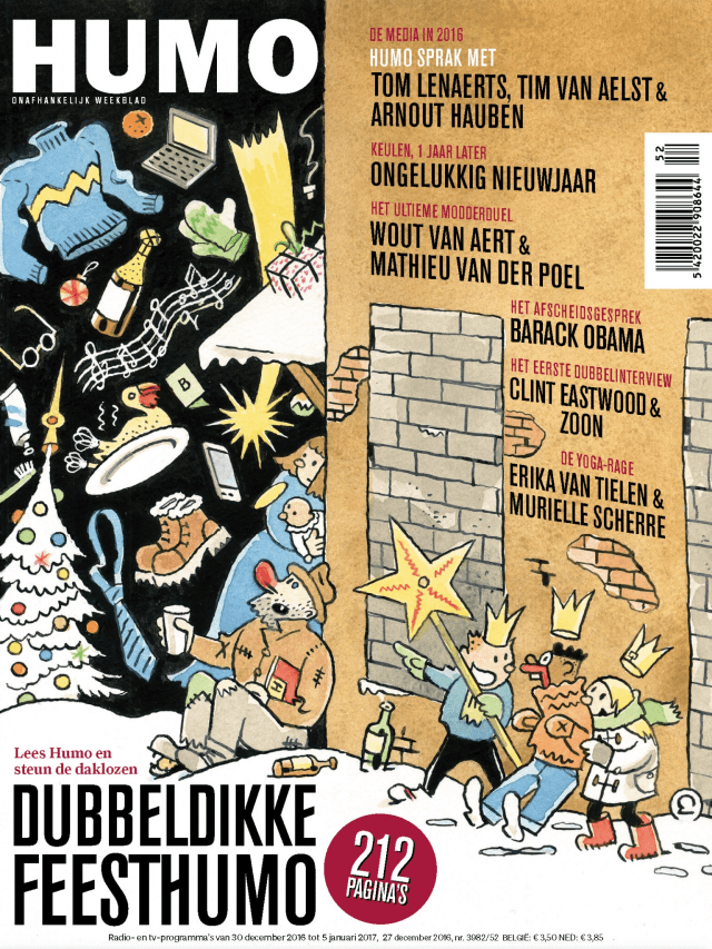 Cover to Humo 3982 by Ever Meulen