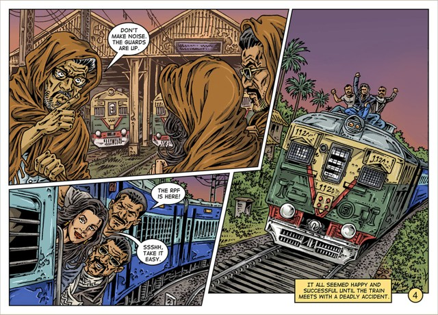 Train Robbery by SoS Ideas