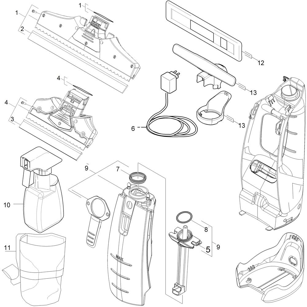 Karcher Spare Parts List